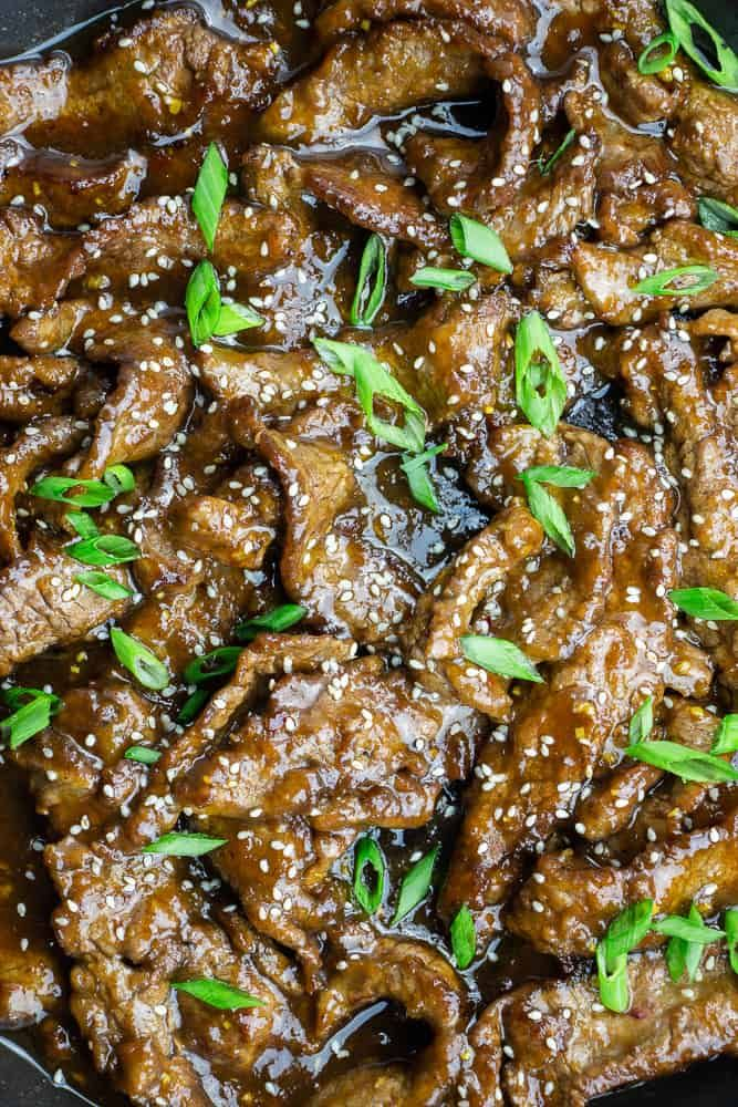 Easy Mongolian Beef Recipe Beef Recipes Mongolian Beef