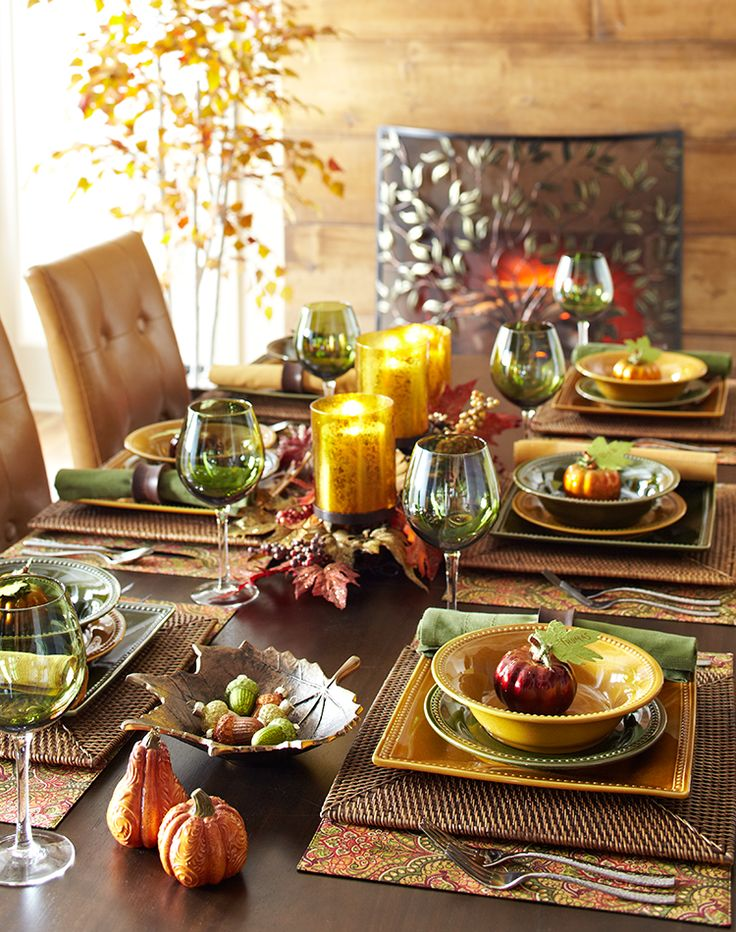 217 best Fall/Thanksgiving Decor images on Pinterest | Tablescapes ...