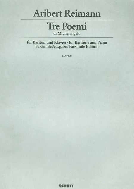 3 Poemi Di Michelangelo