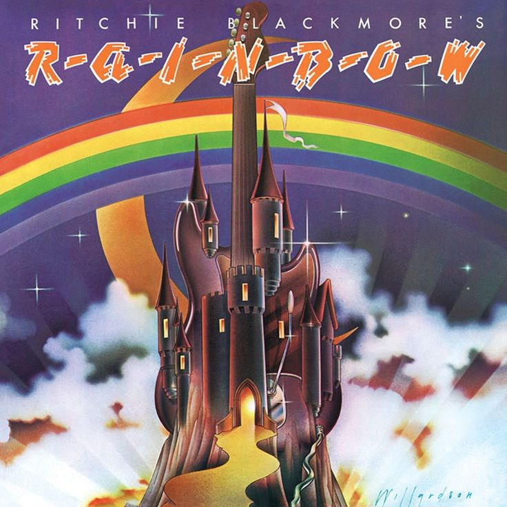 Rainbow - Ritchie Blackmore's Rainbow on Colored LP