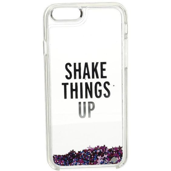 Kate Spade New York Shake Things Up Liquid Glitter Phone Case