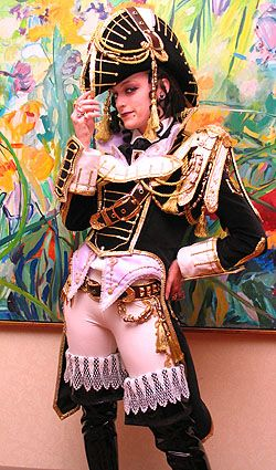 Space Invader Trinity Blood Cosplay