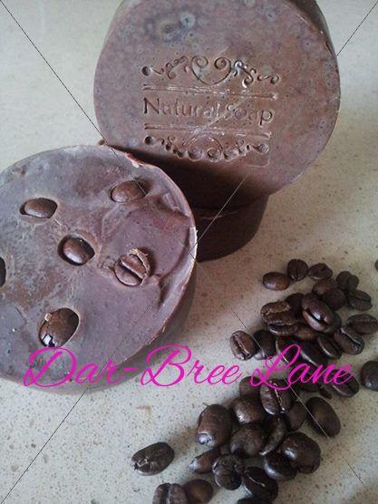 Coffee Scrub Soap, YUM!