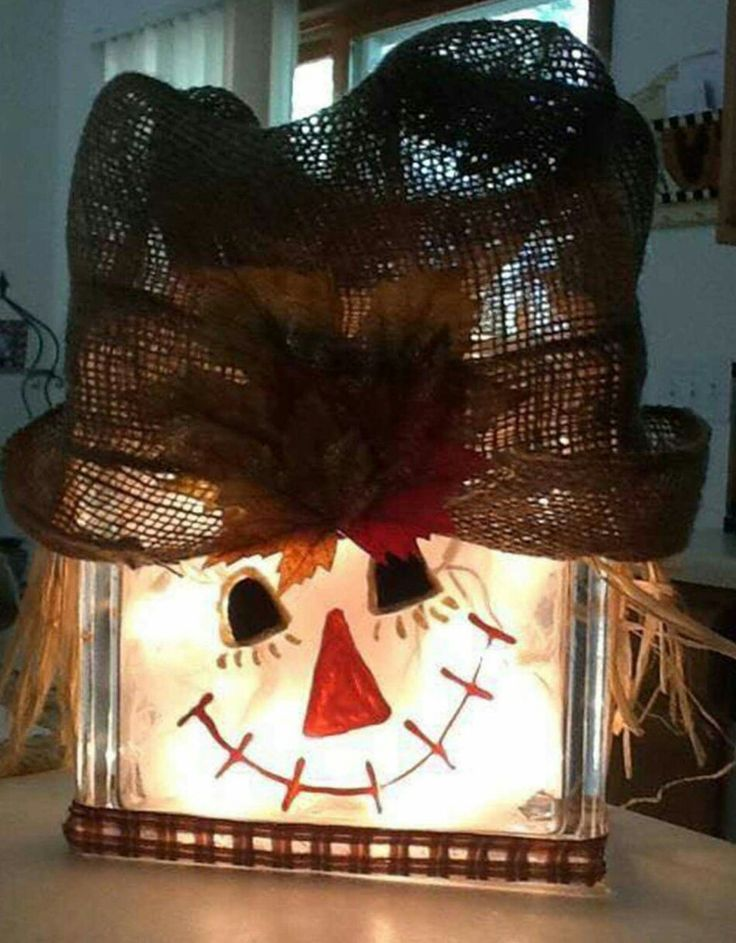 Top 25 best scarecrow painting ideas on pinterest fall for Where to buy glass block windows