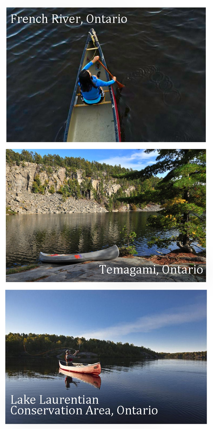 How do I love the canoe? Let me count the ways ....
