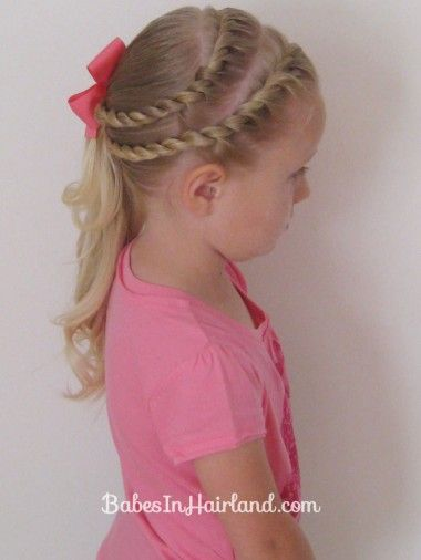 Double Twists and Ponytail (1)