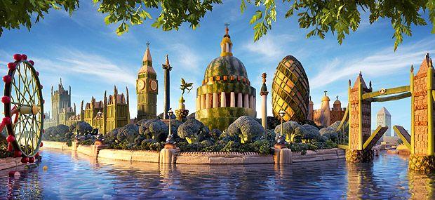 SeaWayBLOG: London's skyline has never been more delicious