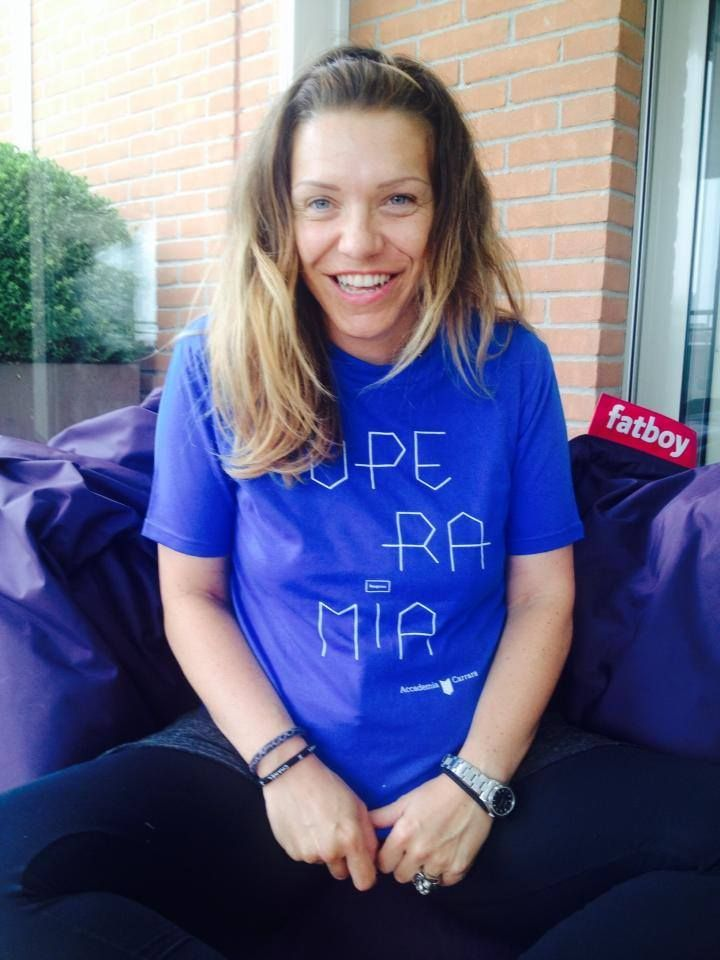 Paola, contributor with #operamia t-shirt crowdfunding projoct 2014