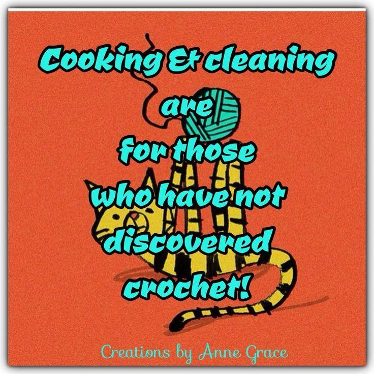 Knitting Crochet Jokes : Best images about crochet sayings jokes cartoons on