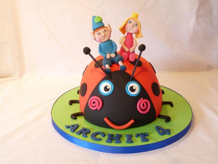 16 best images about ben and holly cake ideas on pinterest for Decorazioni torte ladybug