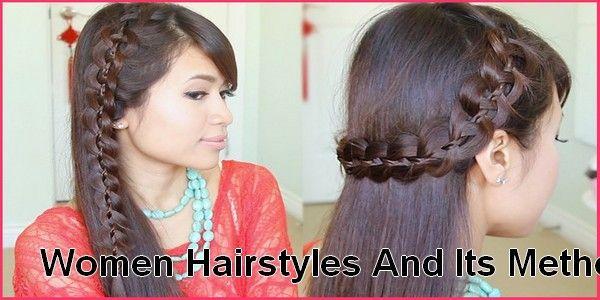 Women Hairstyles And Its Method In Urdu Hairstyling Long Hair Tutorial Long Hair Video Hair Tutorial