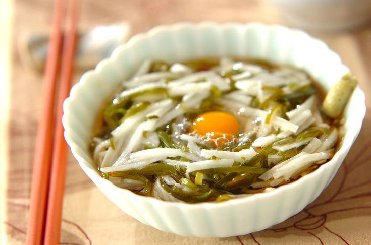 めかぶと長芋素麺【E・レシピ】料理のプロが作る簡単レシピ/2011.01.17公開のレシピです。