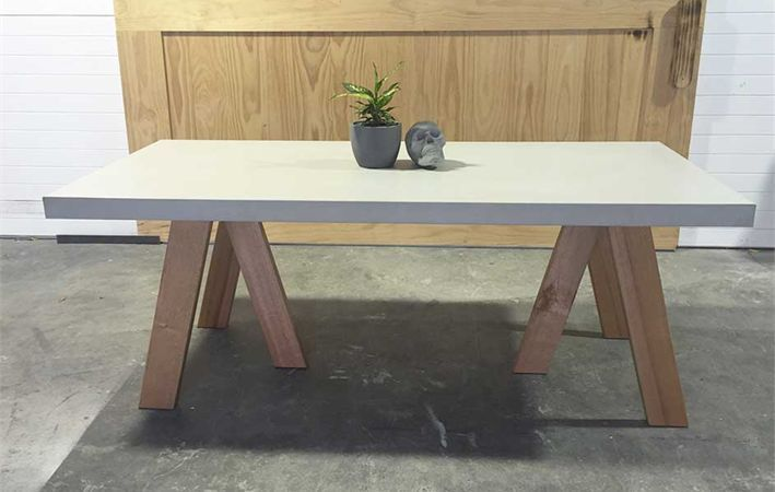 Diy Polished Concrete Dining Table: 17 Best Images About Concrete On Pinterest