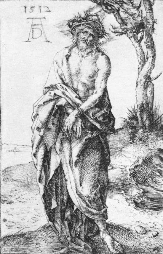 Ταπείνωση με τα χέρια δεμένα (1512) Βελονογραφία