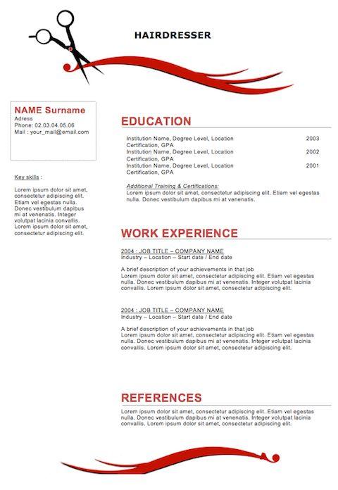 22 Best Resume Images On Pinterest Cover Letter Sample Resume