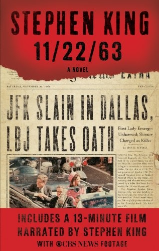 11/22/63-a long read, but a good one!