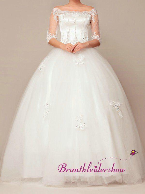 12 best Brautkleid Chiffon images on Pinterest | Chiffon, Brautkleid ...