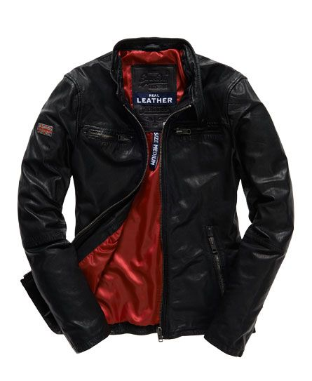 Superdry Veste motard Real Hero