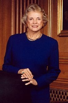 Sandra Day O'Connor ~ Appointed by President Ronald Reagan in 1981 to the United States Supreme Court and served until her retirement in 2006. She was the first woman to be appointed to the court.