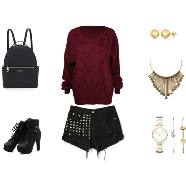 Untitled #2 by konaki on Polyvore featuring Henri Bendel, FOSSIL and Sevil Designs