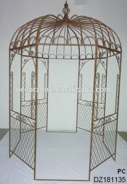 Ornamental Wrought Iron Gazebos For Sale,Metal Garden Gazebo Photo, Detailed…