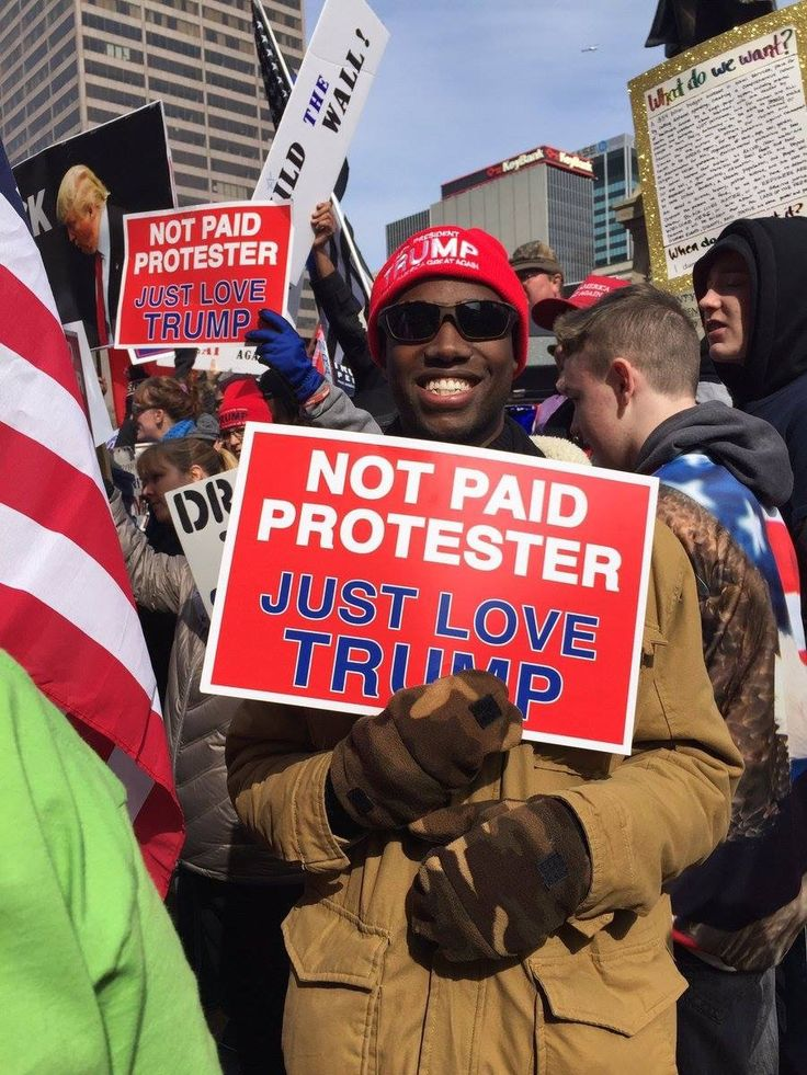 Black patriots for Trump! Contrary to what the media is telling you, they're are black folks that love Trump. Because the Democrats have fkef them over the last 50 yrs. And held them down. And thank God because we're all starting to wake up!