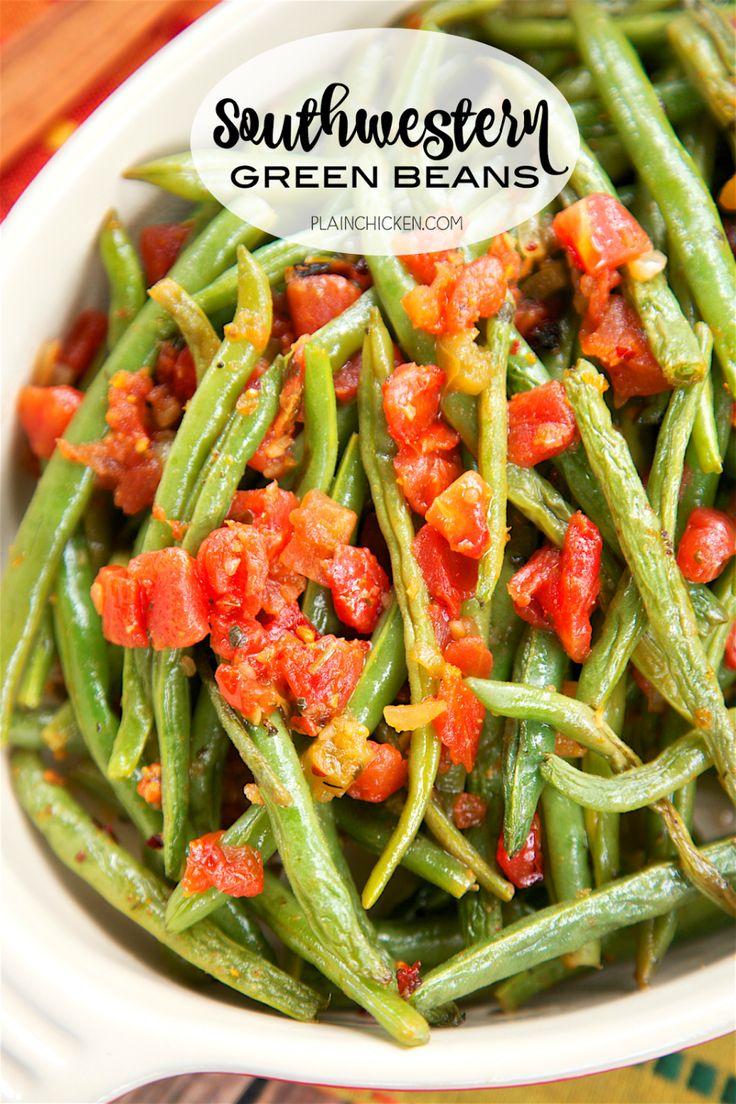 Südwestliche grüne Bohnen | Plain Chicken®