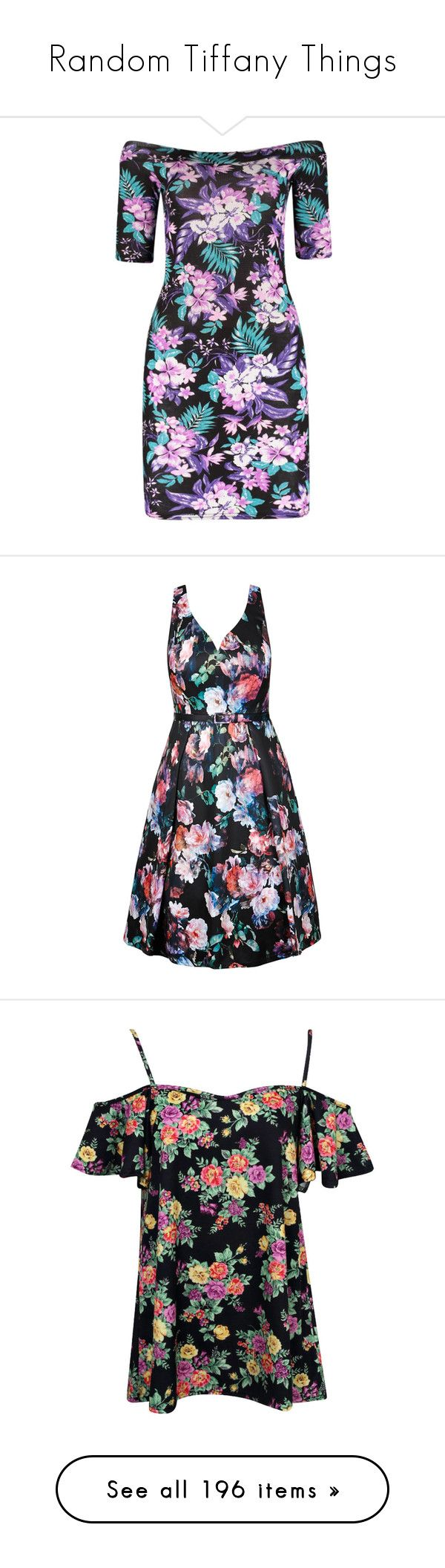 """""""Random Tiffany Things"""" by atomik-concia ❤ liked on Polyvore featuring dresses, floral midi dress, off the shoulder midi dress, floral bodycon dresses, off-shoulder maxi dresses, bodycon dresses, plus size women's fashion, plus size clothing, plus size dresses and flower print dress"""