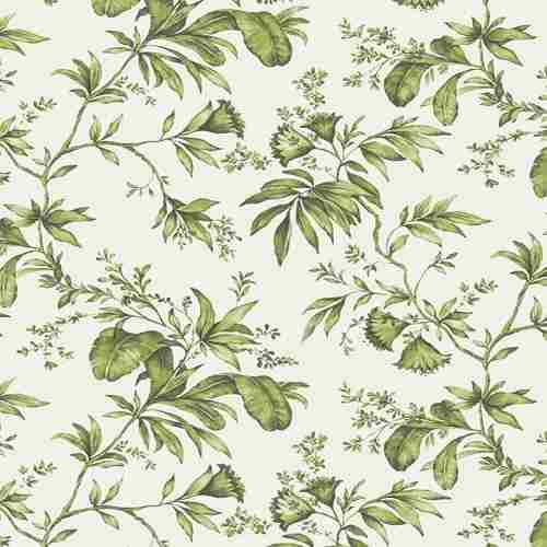 papel parede urban folhas verde