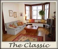 Montreal monthly furnished apartment for executive rentals.
