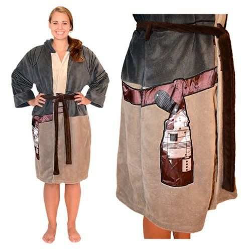 Star Wars Rey Resistance Hooded Fleece Bathrobe - Robe Factory - Star Wars - Bed and Bath at Entertainment Earth