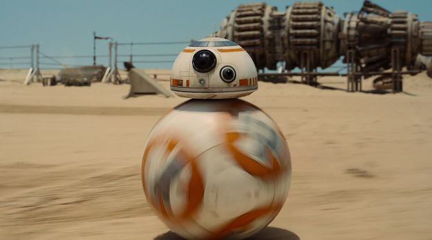 """I got BB-8! The little rolly- soccer ball- droid- thingy, and he's adorable! Which New """"Star Wars"""" Character Are You, Probably?"""