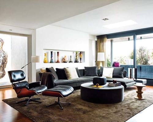 lounge chair ottoman eames Sillas de Autor: Modelos para Decorar con Estilo