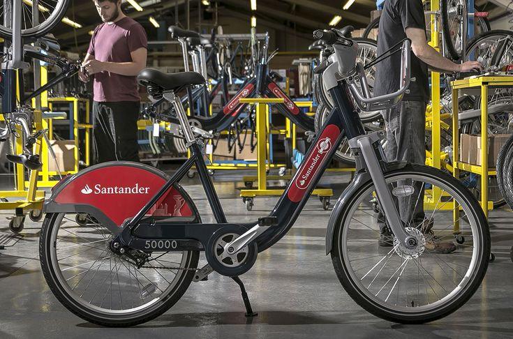 New-look Boris bikes start hitting London's street