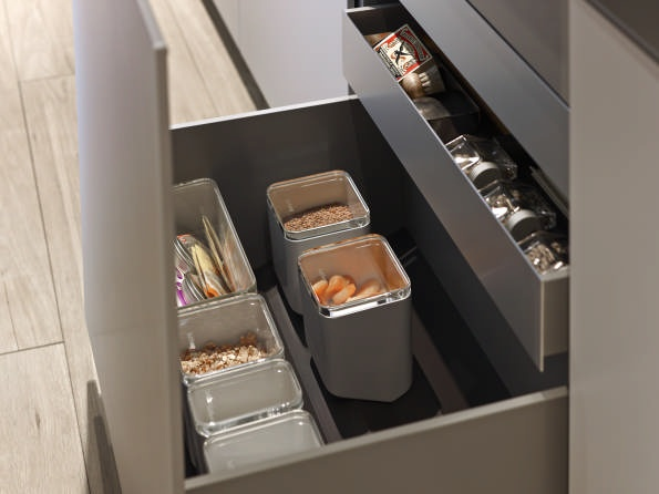 Storage containers #bulthaup #kitchen