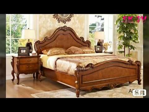 Latest Simple And Gorgeous Wooden Double Size Bed Design Youtube