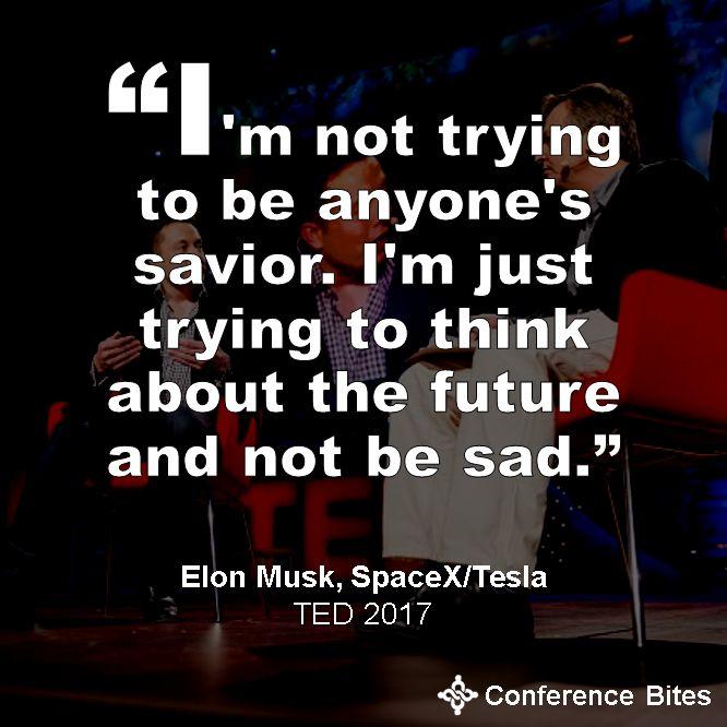 Elon Musk at #TED2017