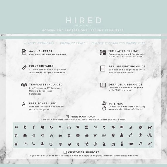 21 best Nurse Resume Templates images on Pinterest Cv resume - Word Resume Template Mac