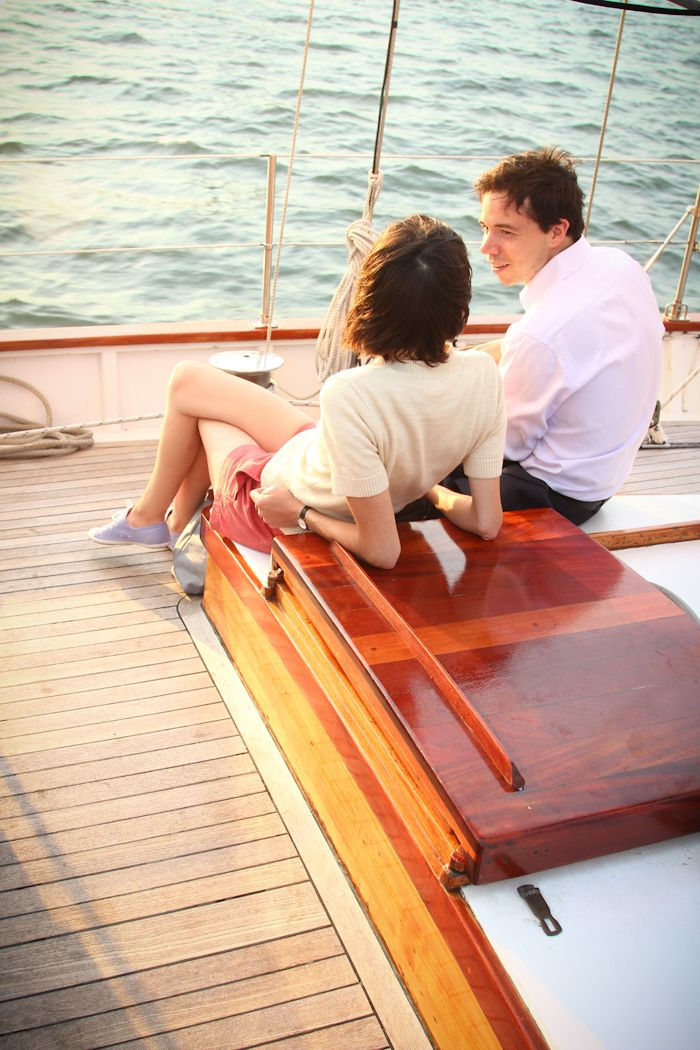 Sailing on the Hudson (Hither and Thither)