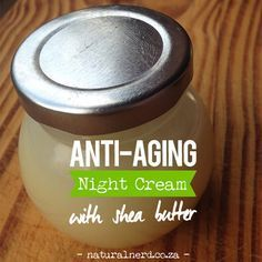 This DIY face cream makes a rejuvenating night cream with its natural anti-aging ingredients. Click for recipe.
