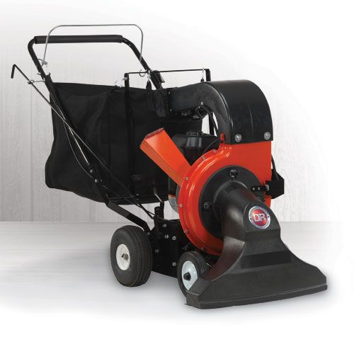 DR Power Leaf and Lawn Vacuum: 11.5 FPT Briggs Self Propelled