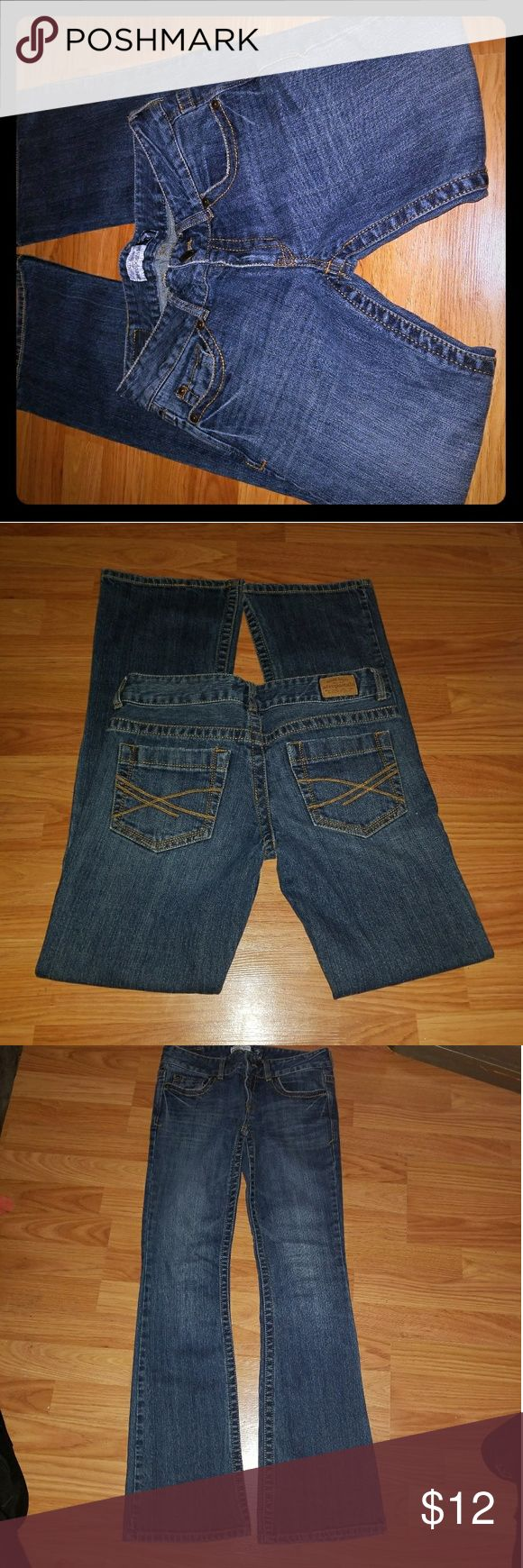 Aeropostale Hailey Skinny Flare 3/4 A great fit. In between bootcut and skinny jeans Brand new size 3/4 reg Aeropostale Jeans