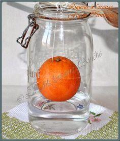 """LA TABLE LORRAINE D'AMELIE: Liqueur d'orange maison """"façon Cointreau"""""""
