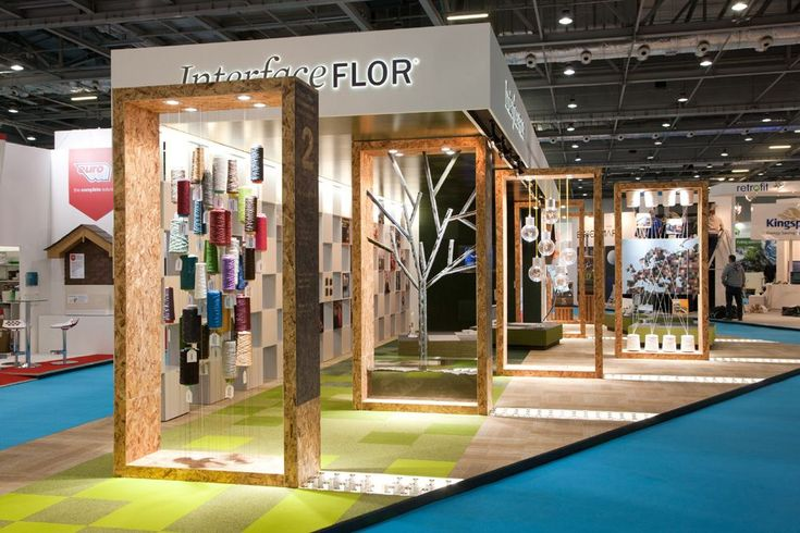 checkland kindleysides design environmental exhibition stand for interfaceflor at ecobuild