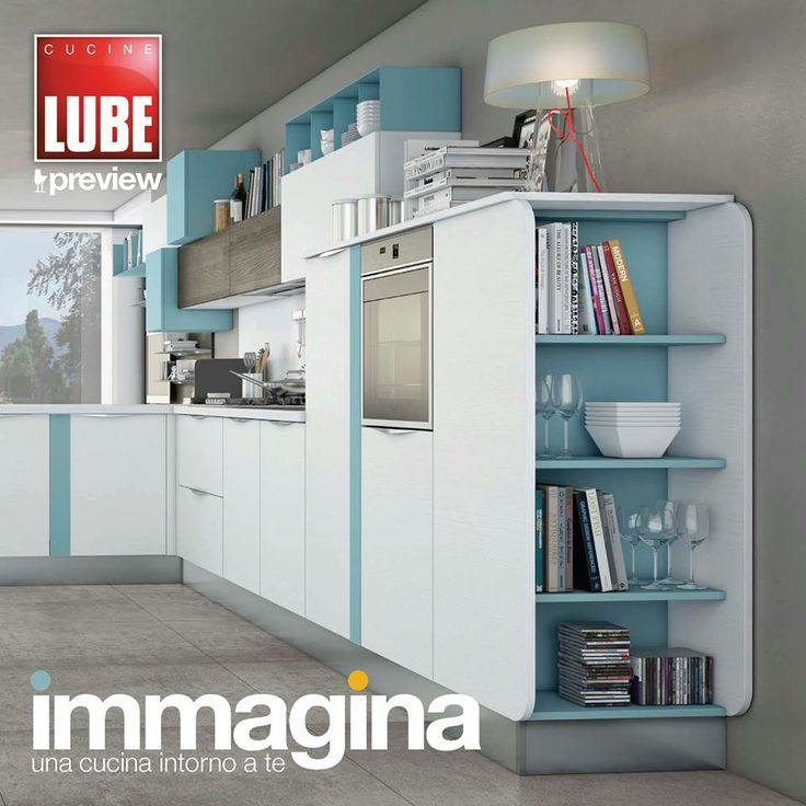 Immagina - Cucine Lube Preview Cover Graphic - render - project   Studio Ferriani