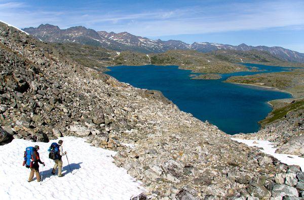 Trilha em Chilkoot, EUA e Canadá - Com 50 quilômetros, dura de três a cinco dias