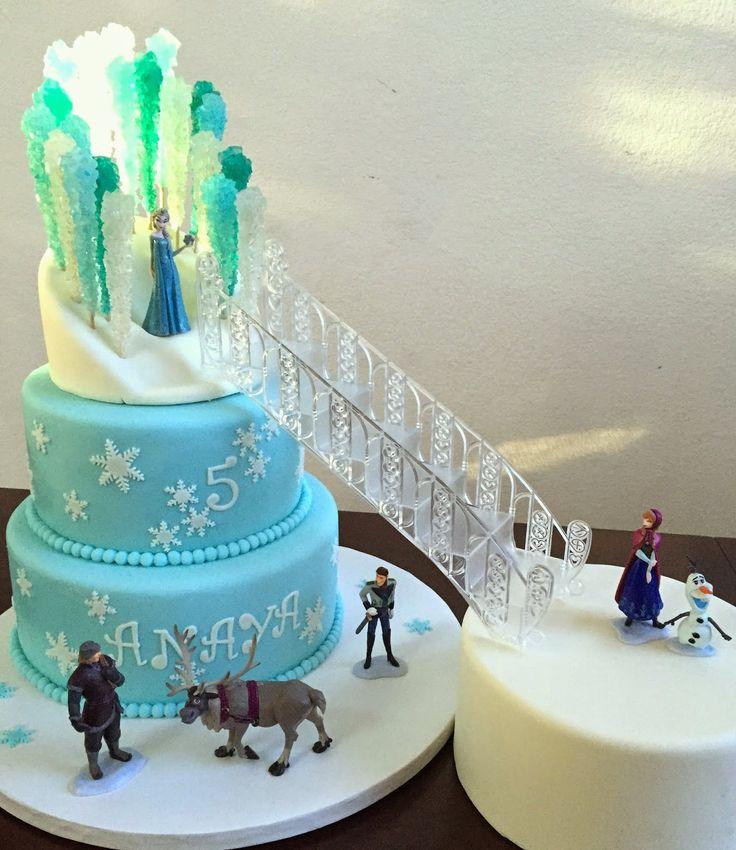 25 Best Ideas About Frozen Castle Cake On Pinterest