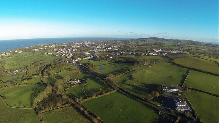 Aerial Image of Amlwch, Anglesey