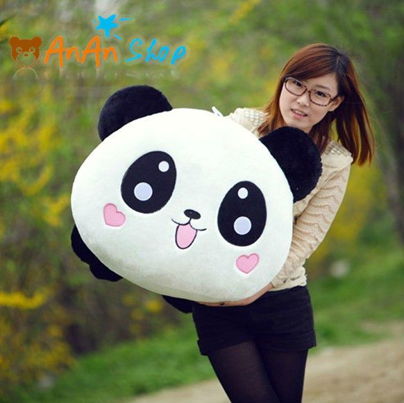 New Giant Stuffed 31'' Panda Plush