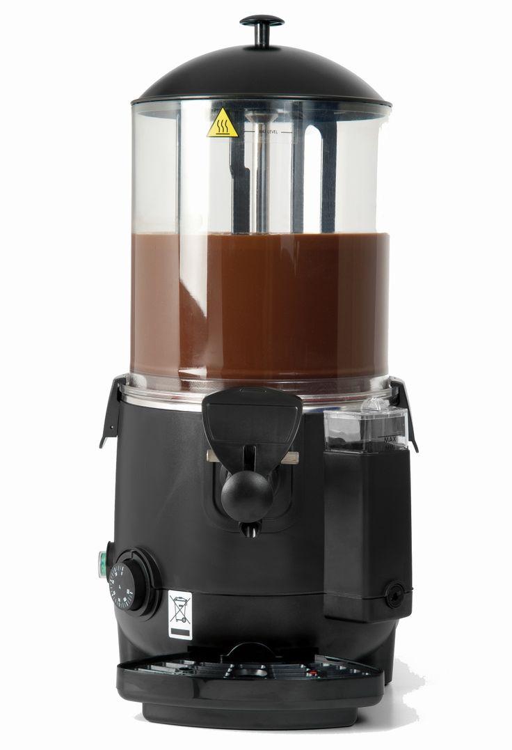 """Hot Drink Dispenser """"Chocolady"""" 1 x 10 Liter für heißen Kakao, Trinkschokolade, Glühwein, Eierpunsch, Kinderpunsch."""